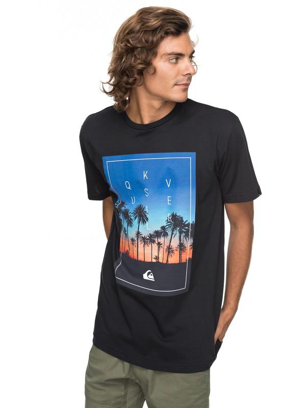 0 Classic Salina Stars - T-Shirt for Men Black EQYZT04778 Quiksilver