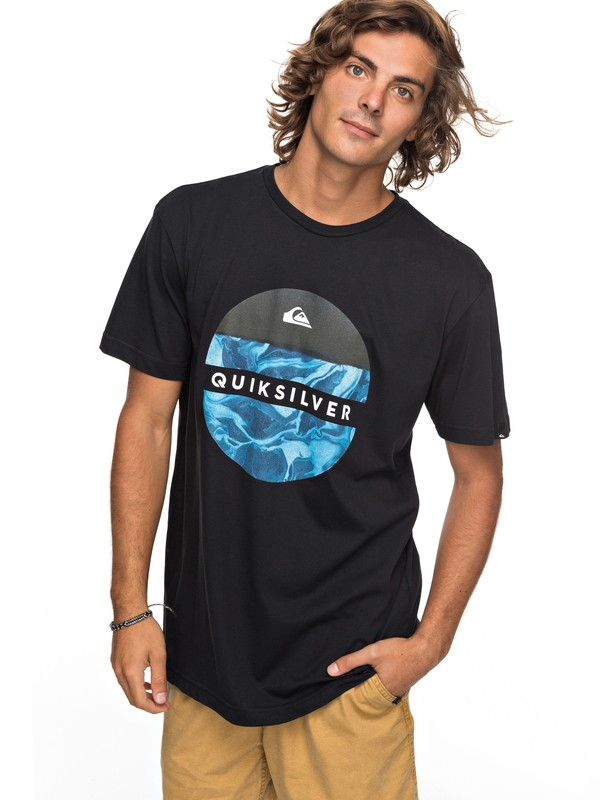 0 Classic Outer Hacka - T-Shirt for Men Black EQYZT04780 Quiksilver