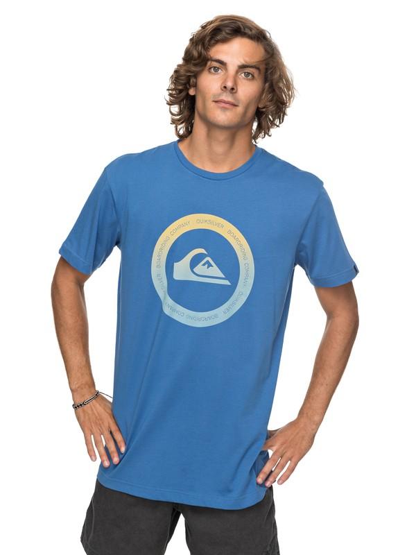 0 Classic Kahu - T Shirt col rond pour Homme  EQYZT04782 Quiksilver