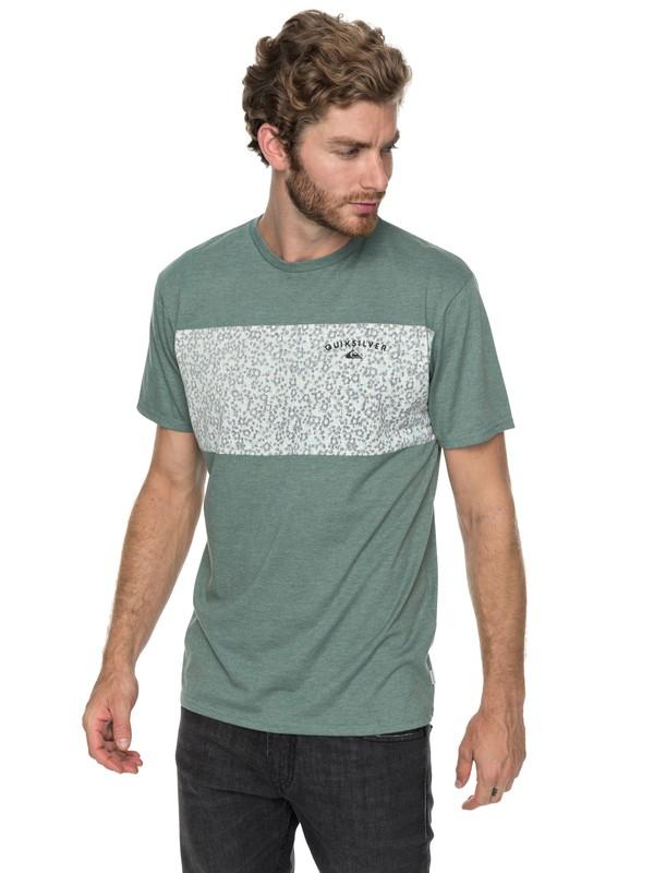 0 Cactus Falls - T Shirt col rond pour Homme  EQYZT04792 Quiksilver