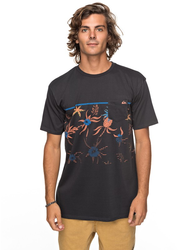 0 Stack For Days Pocket Tee  EQYZT04793 Quiksilver