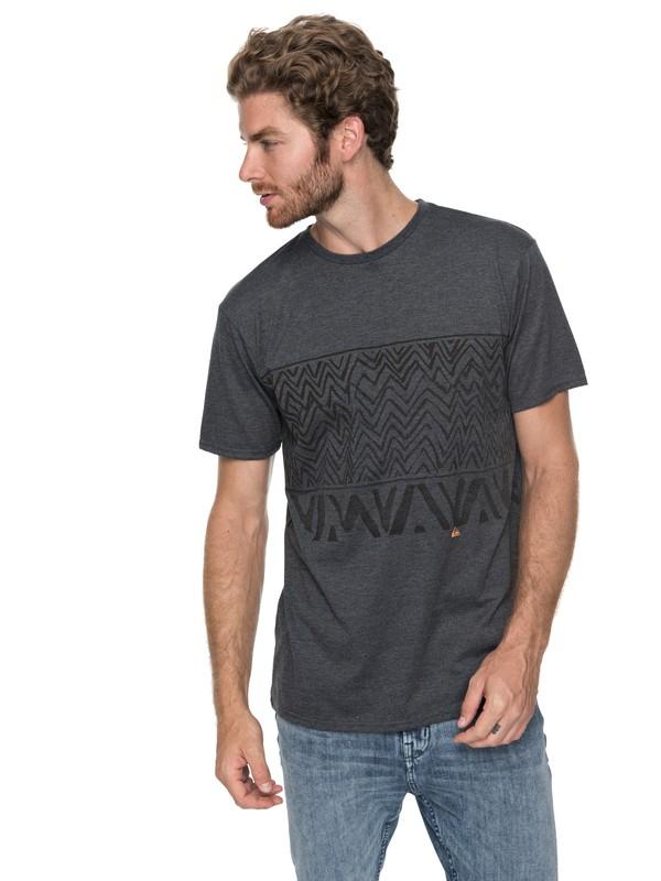 0 Split Kicks - T-Shirt Black EQYZT04805 Quiksilver