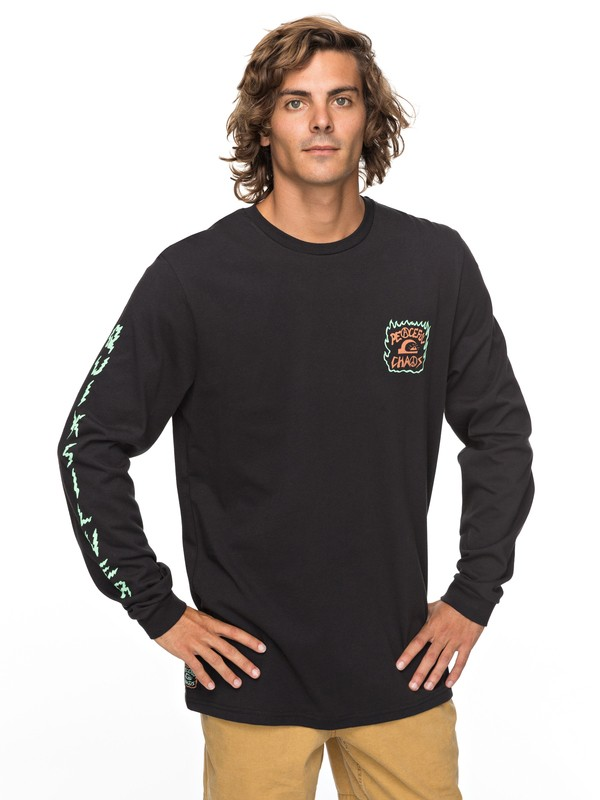 0 PC Statement Long Sleeve Tee  EQYZT04812 Quiksilver