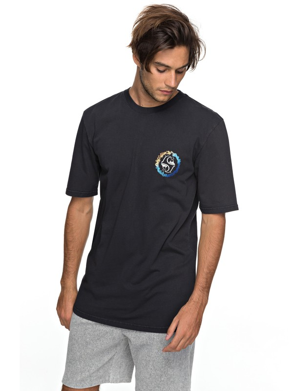 0 Lei All Day Tee Black EQYZT04815 Quiksilver