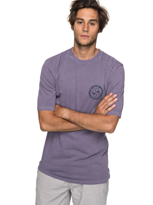 0 Lei All Day - T-Shirt for Men Purple EQYZT04815 Quiksilver
