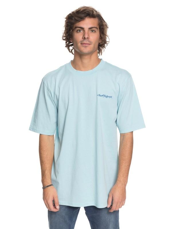 0 Elray Cove Tee Blue EQYZT04860 Quiksilver