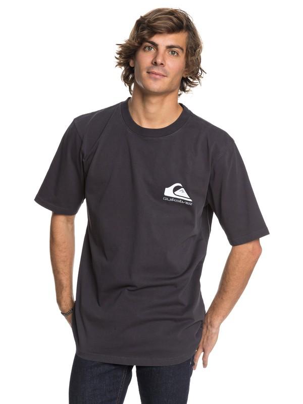 0 Quad Stack - T-Shirt Black EQYZT04886 Quiksilver
