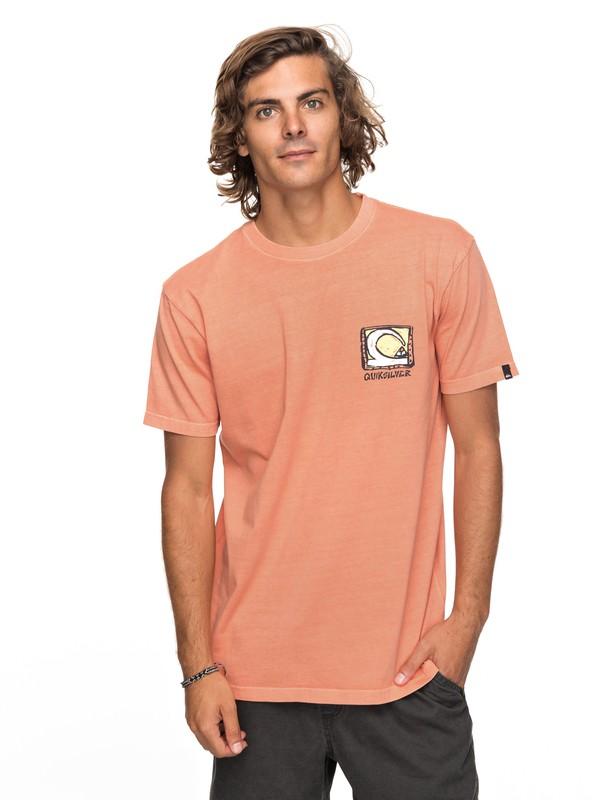 0 Dens Way - T-shirt col rond pour Homme  EQYZT04929 Quiksilver