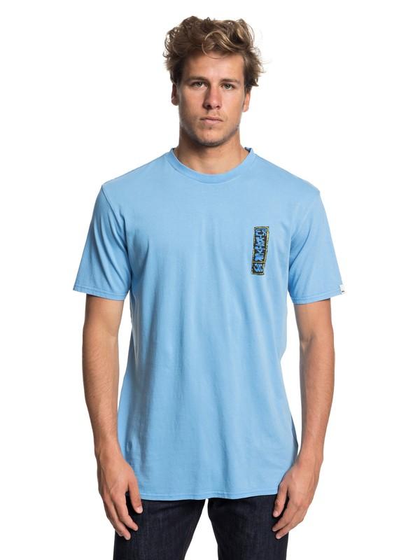 0 Framers Up - Maglietta da Uomo Blue EQYZT04930 Quiksilver