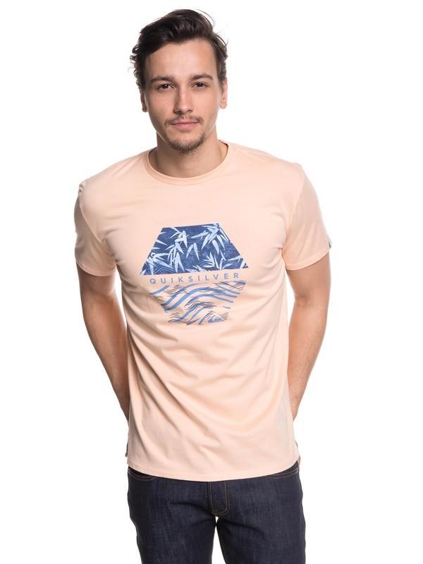0 Bamboo Breakfast - T-Shirt Pink EQYZT04941 Quiksilver