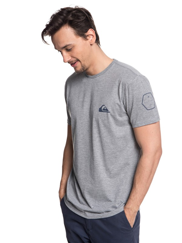 0 Solid Left - Technical UPF 30 T-Shirt for Men Black EQYZT04965 Quiksilver