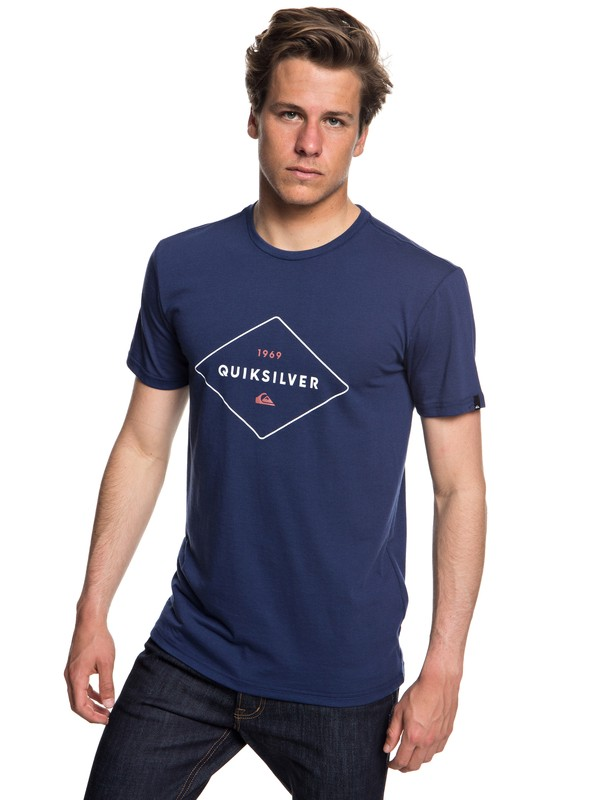 0 Fluid Flow - Technical UPF 30 T-Shirt Blue EQYZT04967 Quiksilver