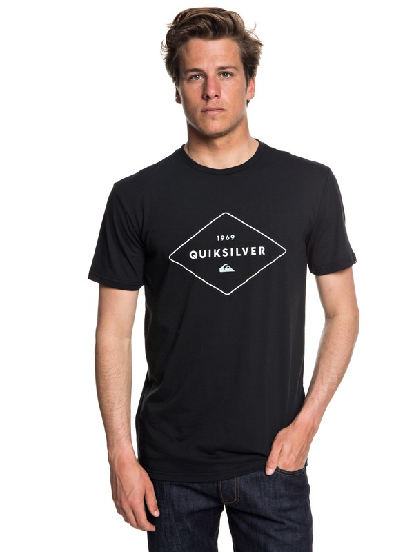 0 Fluid Flow - Technical UPF 30 T-Shirt Black EQYZT04967 Quiksilver