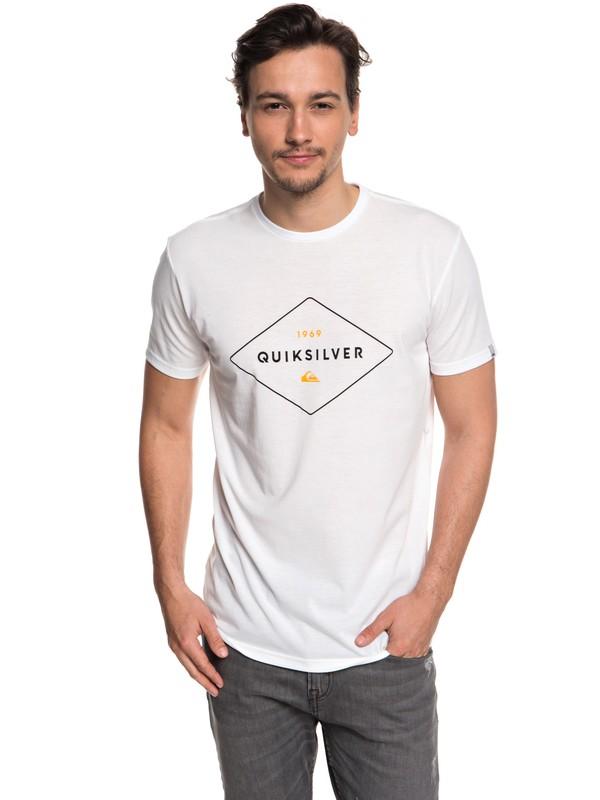 0 Fluid Flow - Technical UPF 30 T-Shirt for Men White EQYZT04967 Quiksilver