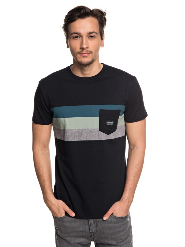 0 Peaceful Progression - Pocket T-Shirt for Men Black EQYZT05007 Quiksilver