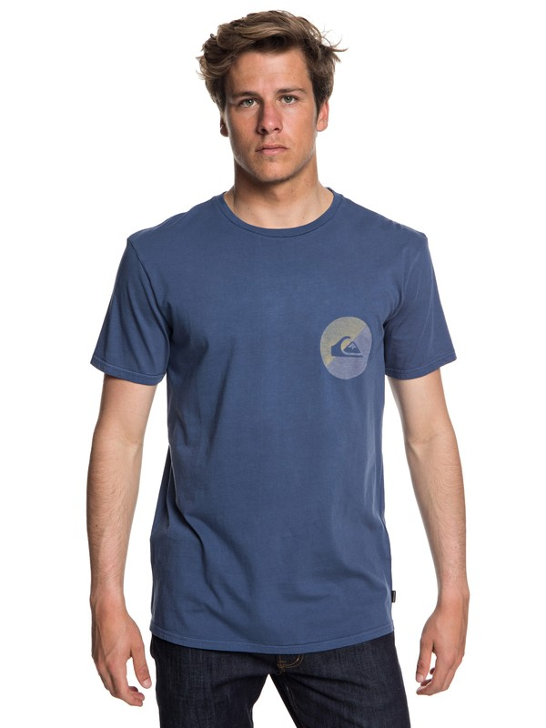 0 Shook Up - T-Shirt for Men Blue EQYZT05013 Quiksilver