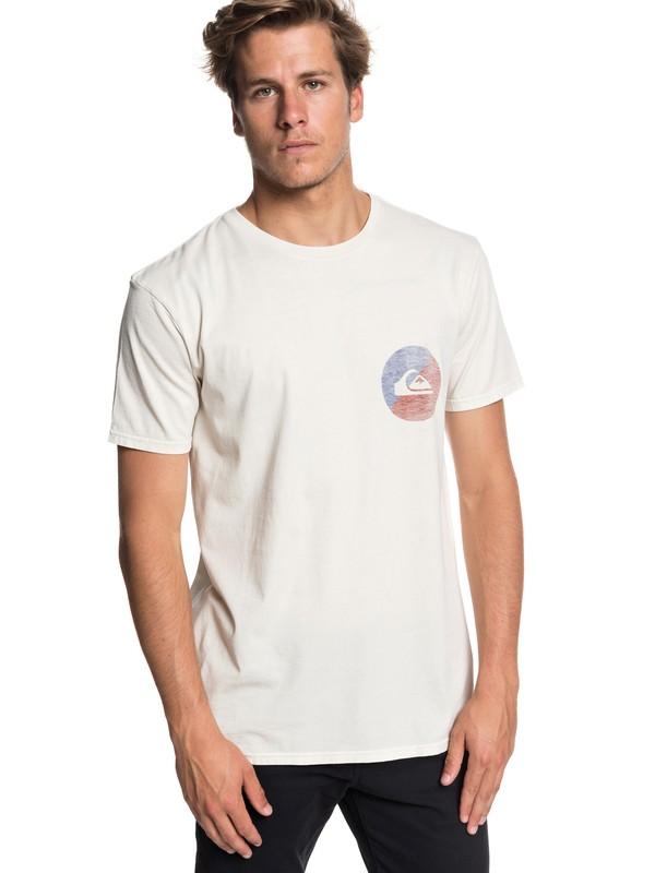 0 Shook Up - T-Shirt for Men Beige EQYZT05013 Quiksilver