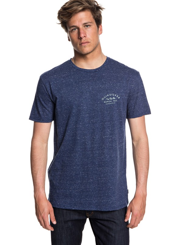 0 Banzai Bar - T-Shirt for Men Blue EQYZT05017 Quiksilver