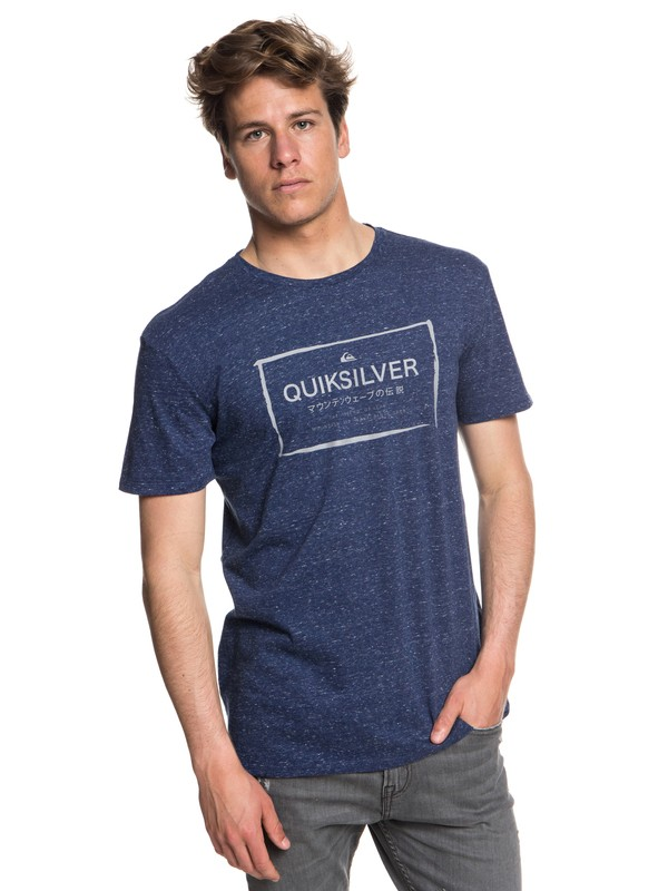 0 Quik In The Box - T-Shirt for Men Blue EQYZT05018 Quiksilver