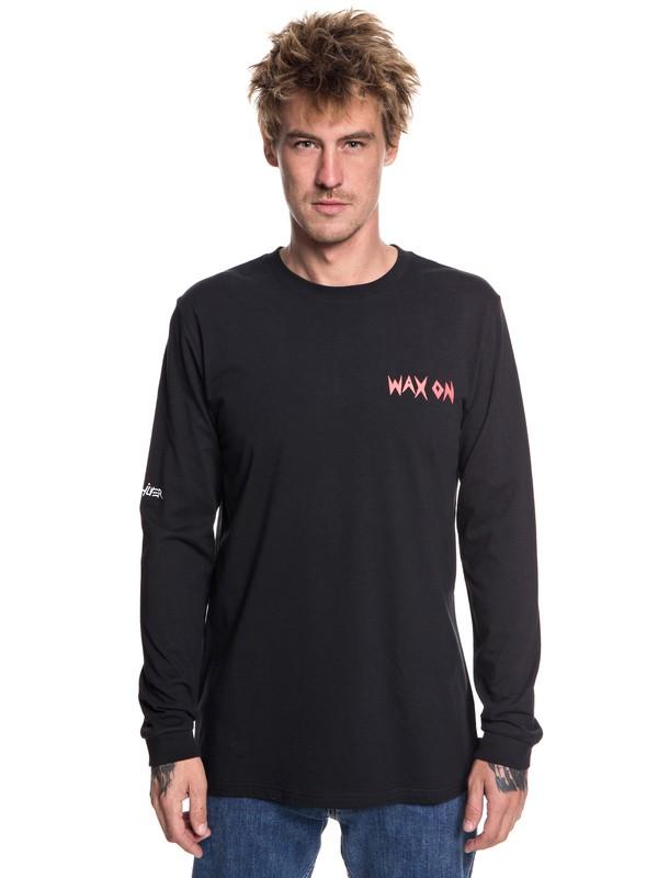 0 Men's Wax Off Long Sleeve Tee  EQYZT05041 Quiksilver