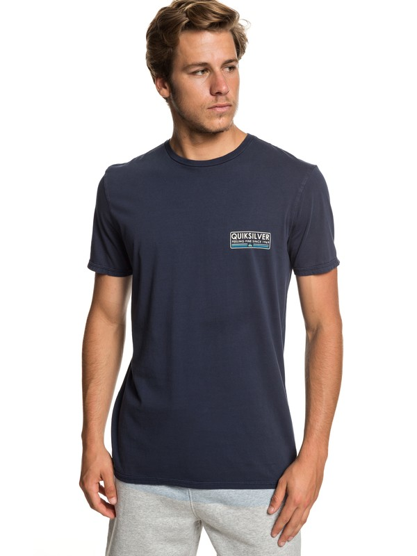0 Paddle Forward Tee Blue EQYZT05223 Quiksilver