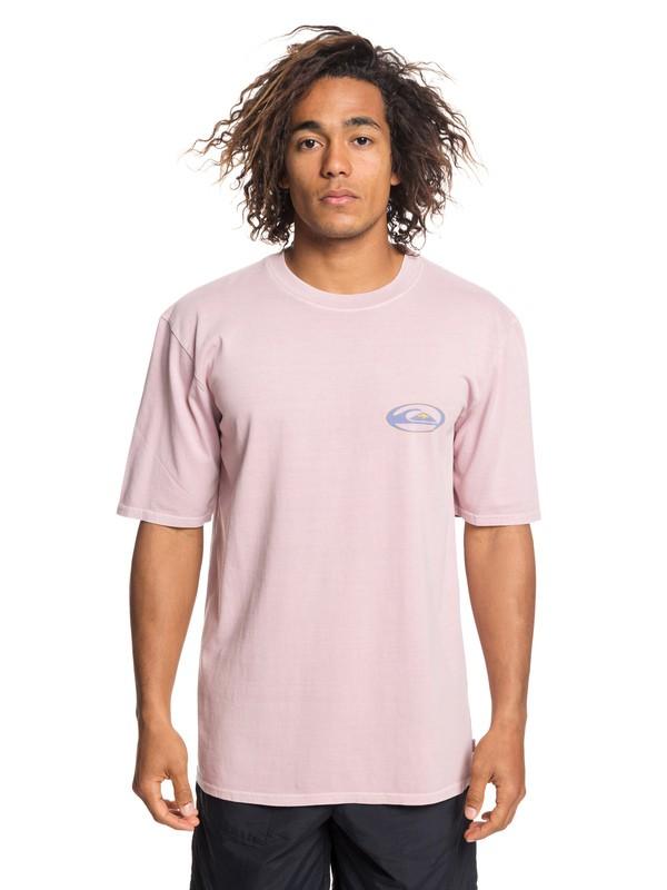 0 Cosmic Patient Tee Pink EQYZT05245 Quiksilver
