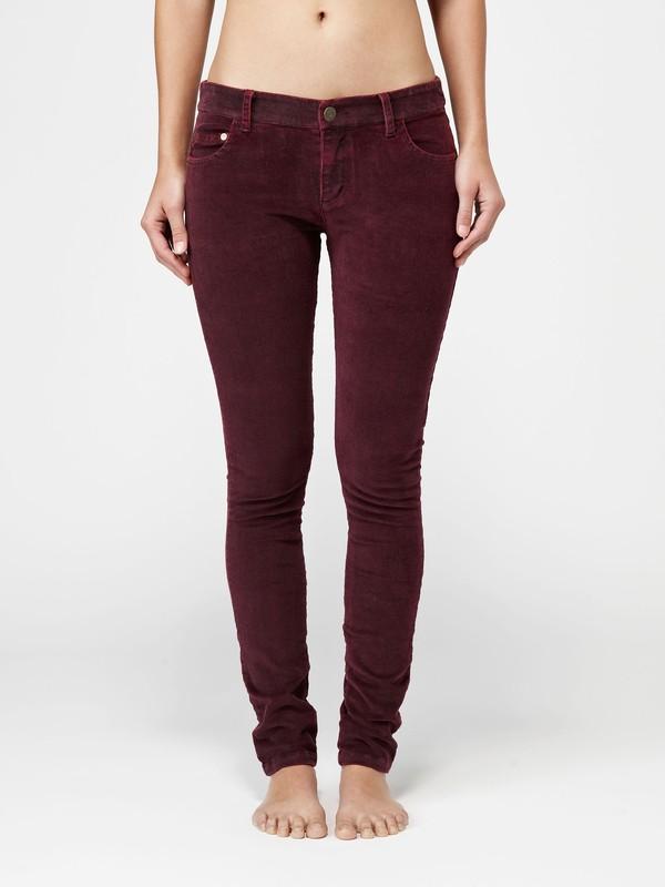 0 Woodstock Skinny Cord Pants  G10027 Quiksilver