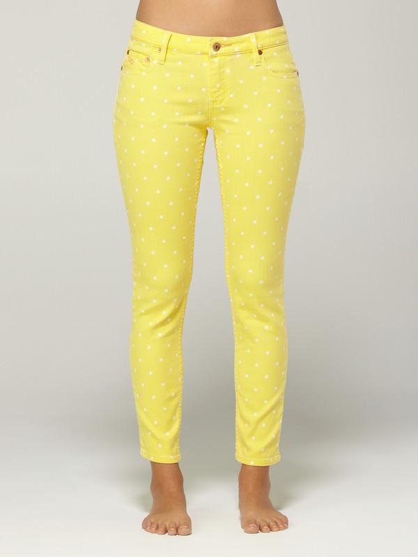 0 Tama Crop Yellow Swan Jeans  G13066 Quiksilver