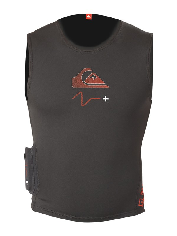 0 Ps+Qs Heated Vest  HV915MF Quiksilver