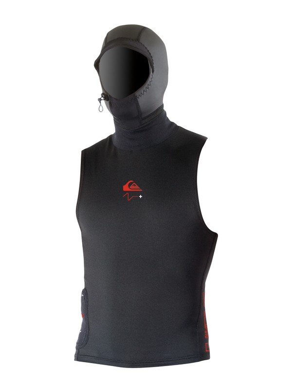 0 Cypher PS+ Hooded Heat Vest  HV917MF Quiksilver