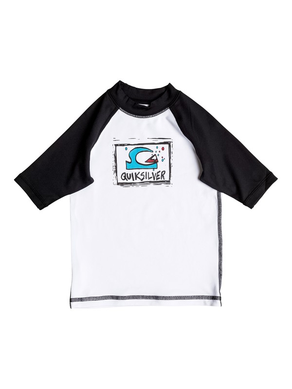 0 Bubble Dream - Short Sleeve Rash Vest  UQKWR03031 Quiksilver