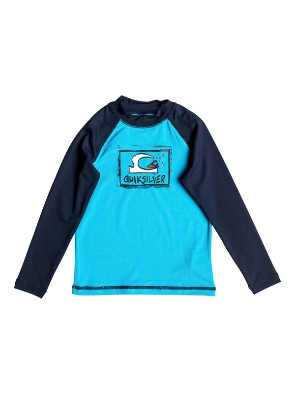 0 Bubble Dream - Long Sleeve Rash Vest  UQKWR03032 Quiksilver
