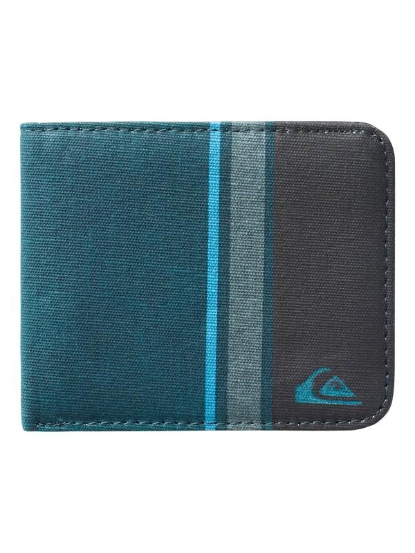 0 Comp Stripe Cotton Wallet  UQYAA03006 Quiksilver