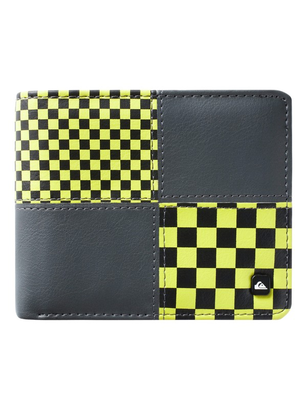 0 Reynolds Check Wallet  UQYAA03034 Quiksilver