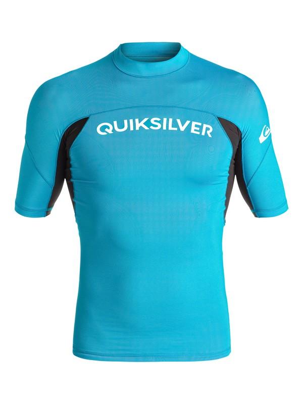 0 Performer Short Sleeve Rashguard  UQYWR03055 Quiksilver