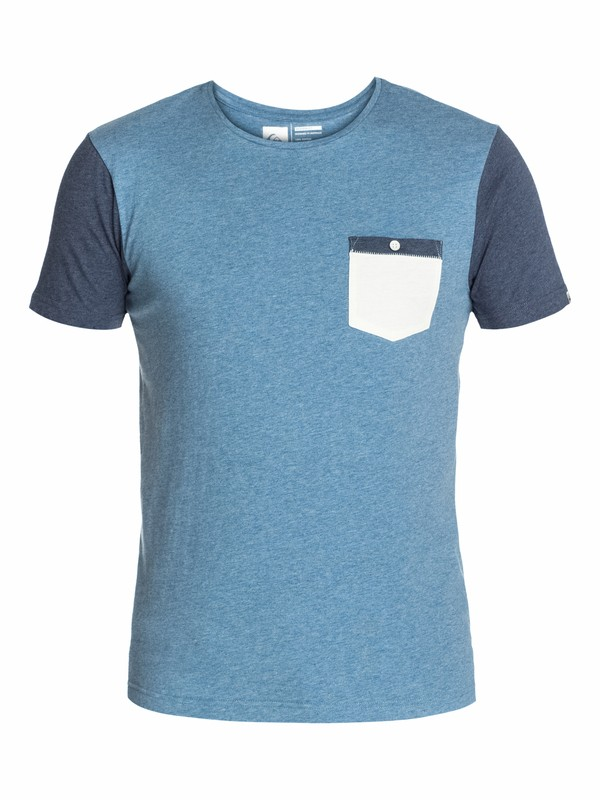0 Check Ya Pocket Slim Fit T-Shirt  UQYZT03044 Quiksilver