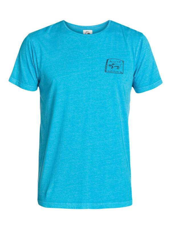 0 Ghetto Dog Modern Fit T-Shirt  UQYZT03128 Quiksilver
