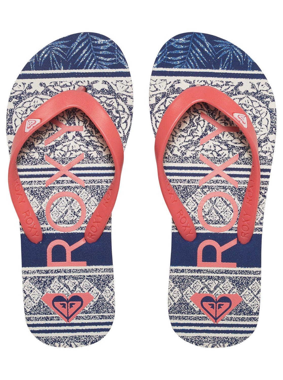 a3185936d 2 Tahiti - Flip-Flops for Girls Red ARGL100030 Roxy