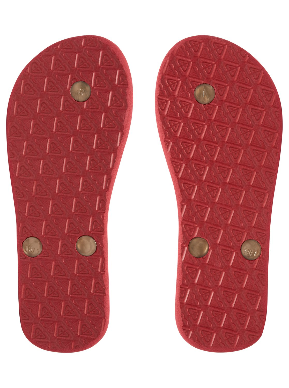 Roxy Girls 7-14 Tahiti Flip-Flops Argl100181  Ebay-999