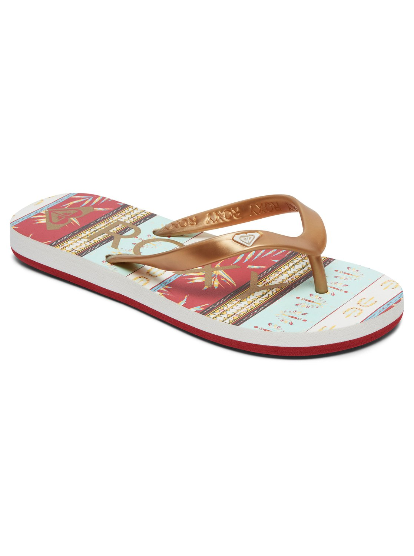 Roxy Girls 7-14 Tahiti Flip-Flops Argl100181  Ebay-8375