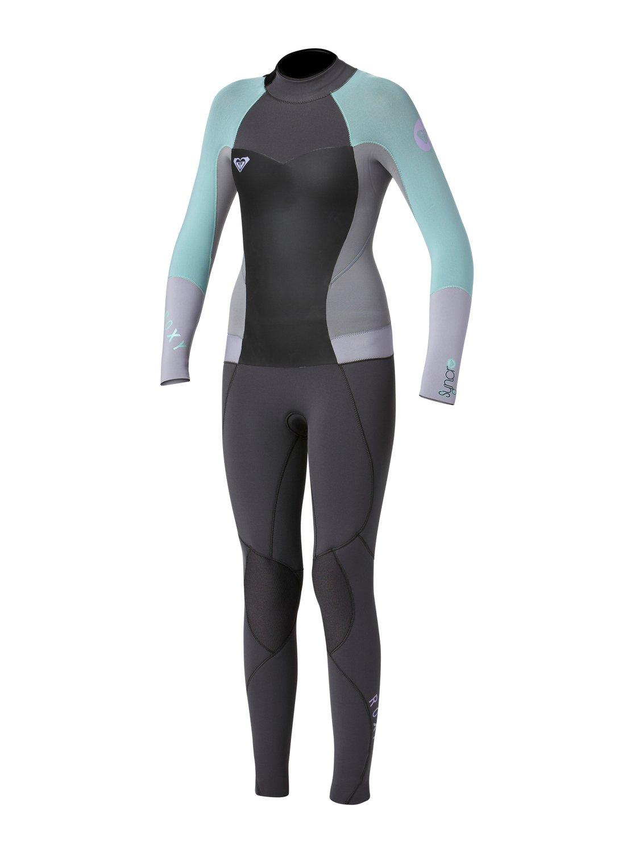 0 Girls 7- 14 Syncro 3 2mm Back Zip Wetsuit ARGW103001 Roxy 257af8cc3
