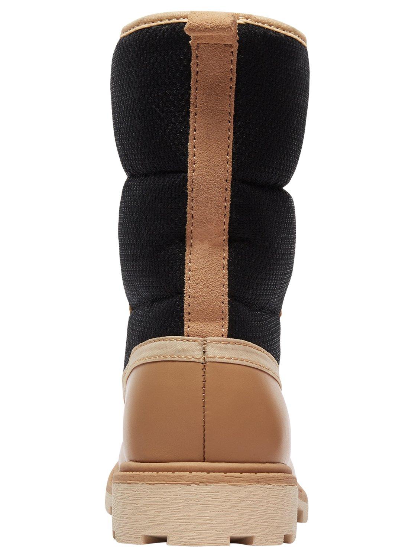 4 Canby - Botas de nieve impermeables para Mujer Negro ARJB700547 Roxy 5344ffa53c305