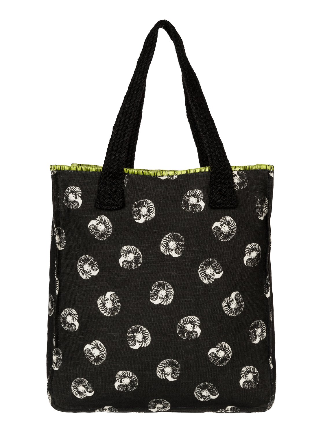c6631f28c165 2 Rocksteady Beach Tote Black ARJBA03013 Roxy