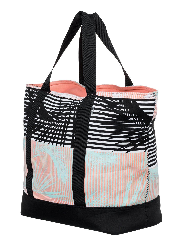 1 Sun Crush Neoprene Tote Bag White Arjbp03156 Roxy