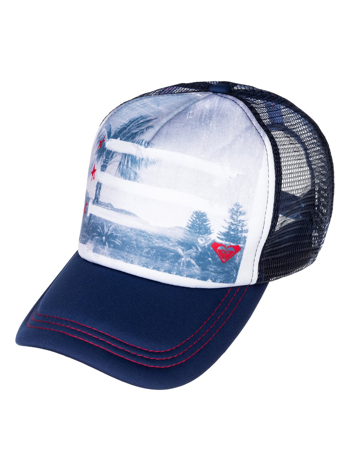 0 Coast Road Trucker Hat ARJHA00069 Roxy 5e1ac293c6c