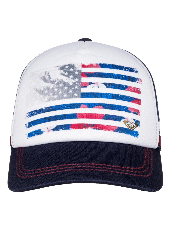 Dig this paradise flag trucker hat arjha roxy jpg 1117x1500 Flag hat roxy 9e88e87b9e99