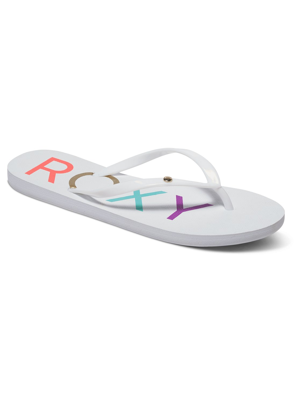 6687d6f7ac68ec 0 Sandy - Flip-Flops White ARJL100438 Roxy