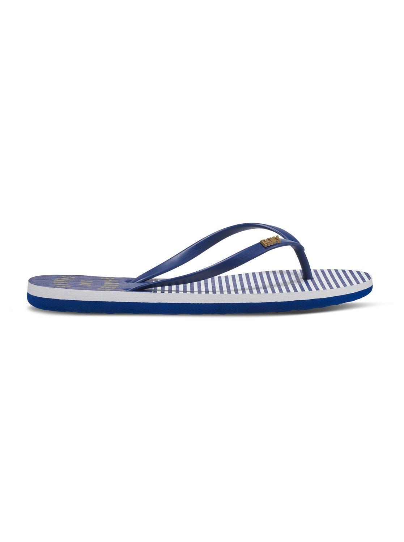 df7914069272 1 Viva Stamp - Flip-Flops for Women Blue ARJL100543 Roxy