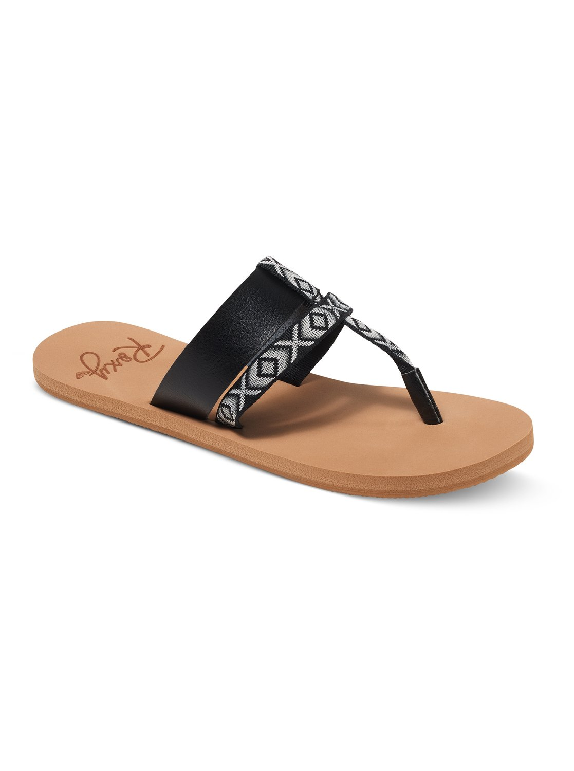 Roxy KAHULA Black - Chaussures Tongs Femme