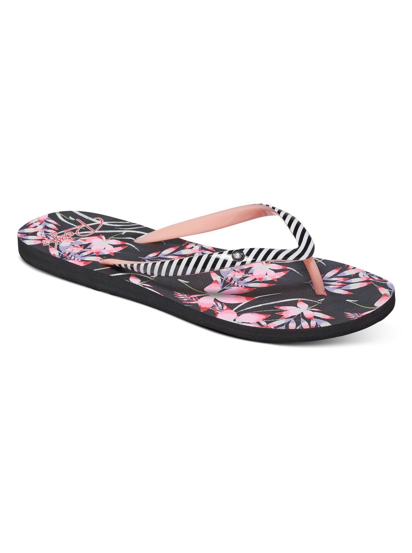 1566dc28e5f4 0 Portofino - Flip-Flops for Women Black ARJL100551 Roxy